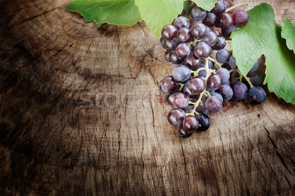 Grapes background Stock photo © mythja
