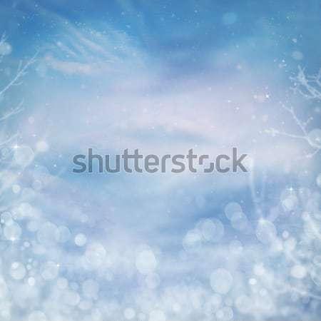 Snow mountain Stock photo © mythja