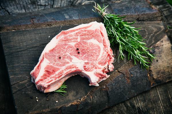 Raw meat Stock photo © mythja