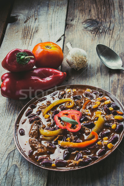 Chili con carne  Stock photo © mythja