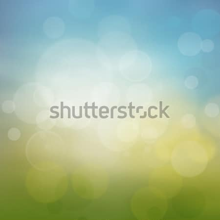 Spring or summer abstract season nature background  Stock photo © mythja