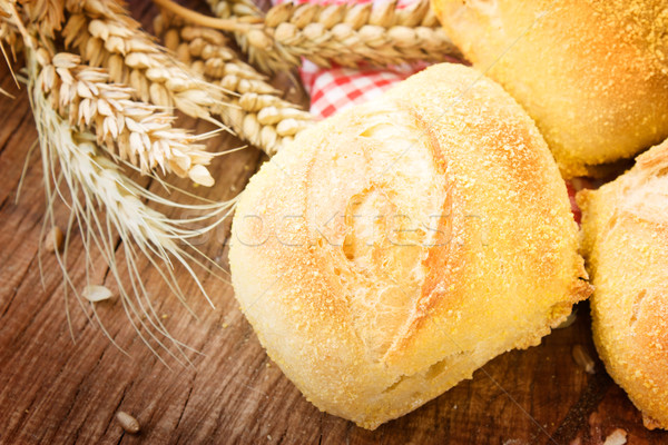 Fresh bread Stock photo © mythja