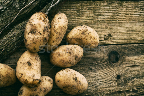 Potatoes Stock photo © mythja