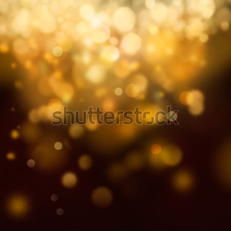 Goud feestelijk christmas elegante abstract bokeh Stockfoto © mythja
