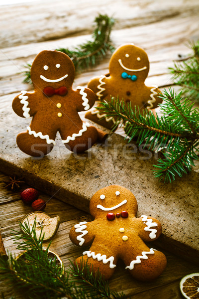 Gingerbread man Stock photo © mythja