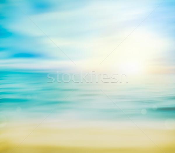 Summer holiday background Stock photo © mythja