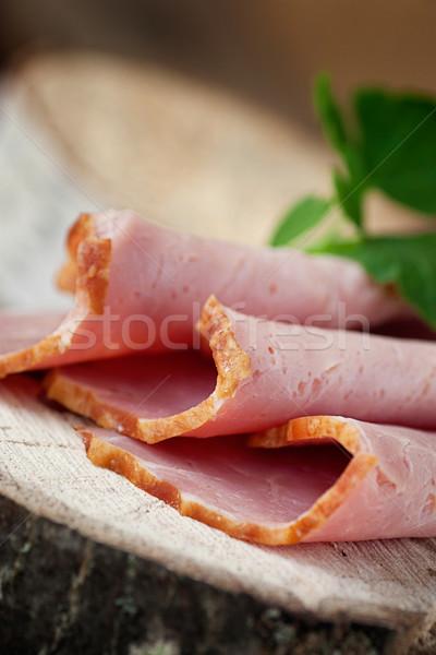 Fresh ham Stock photo © mythja