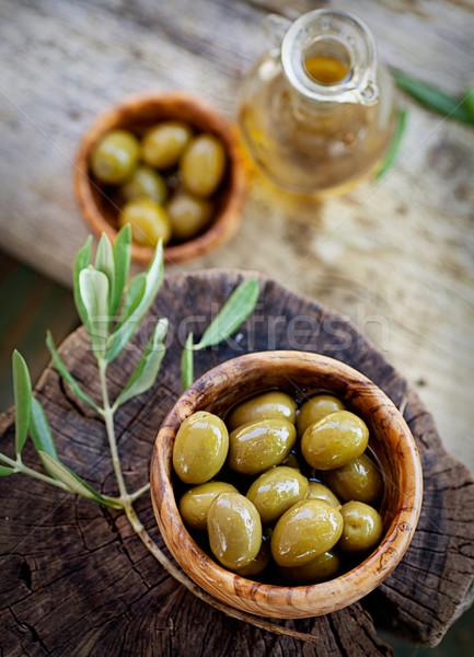 Fresh olives Stock photo © mythja
