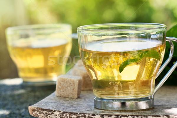 Mint tea Stock photo © mythja