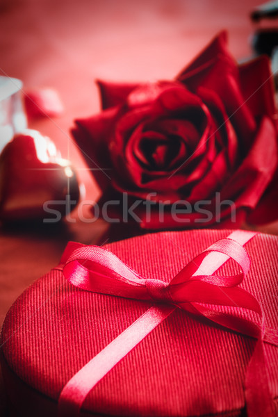 Valentine's day present Stock photo © mythja