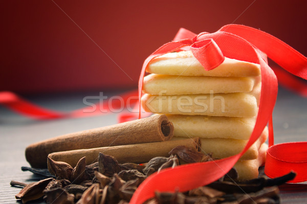 Valentine heart cookies Stock photo © mythja