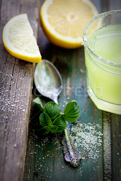 Fresh lemonade Stock photo © mythja