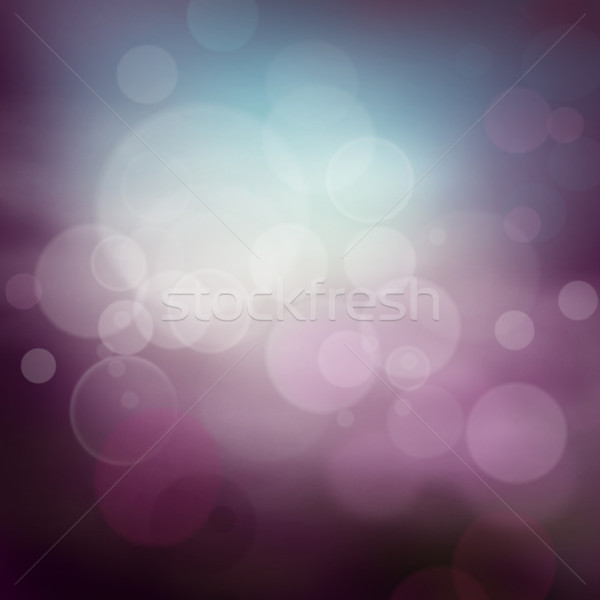 Purple abstract bokeh background  Stock photo © mythja