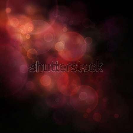 Donkere bokeh paars feestelijk christmas elegante Stockfoto © mythja