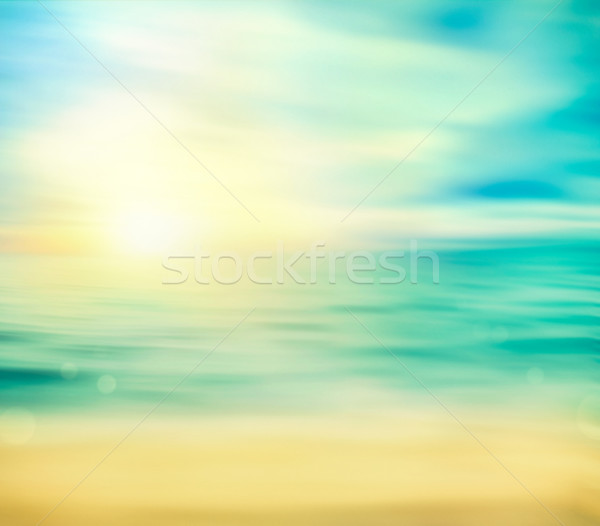 Summer holiday background Stock photo © mythja