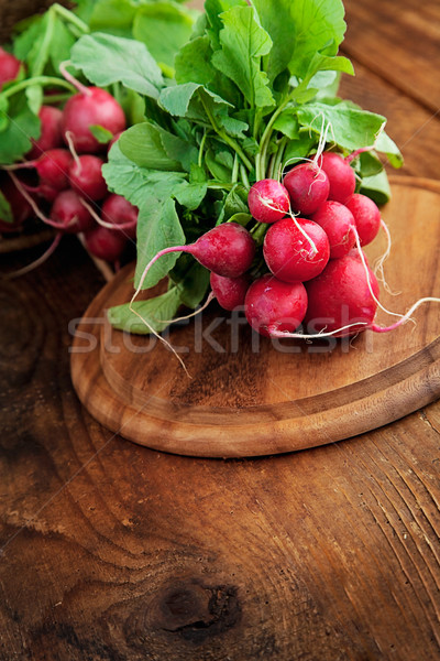 Fresh radish Stock photo © mythja
