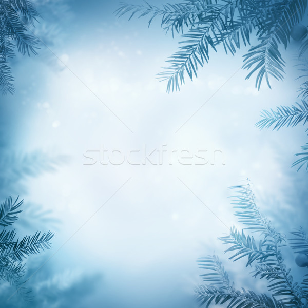 Stock photo: Festive winter background