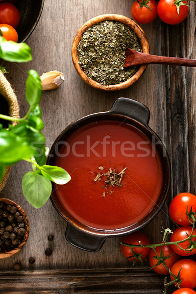 Tomato soup Stock photo © mythja