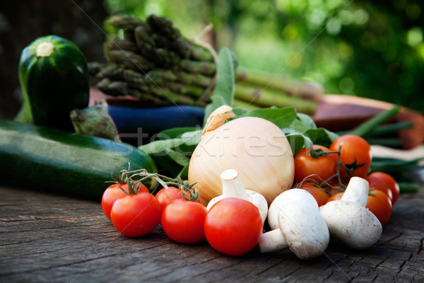 Stock photo: Fresh garden produce