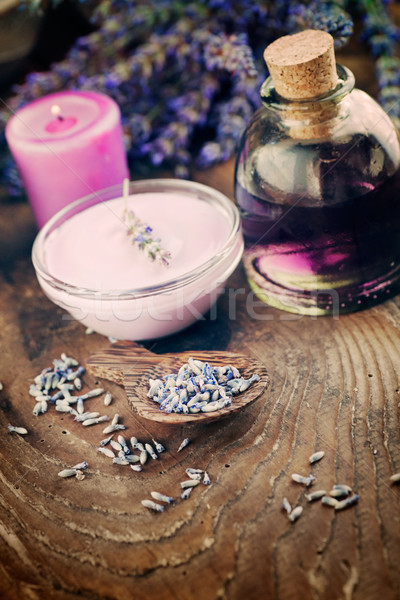 Lavender spa setting Stock photo © mythja