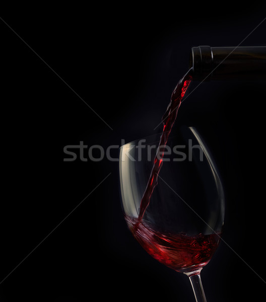 Red wine Stock photo © mythja
