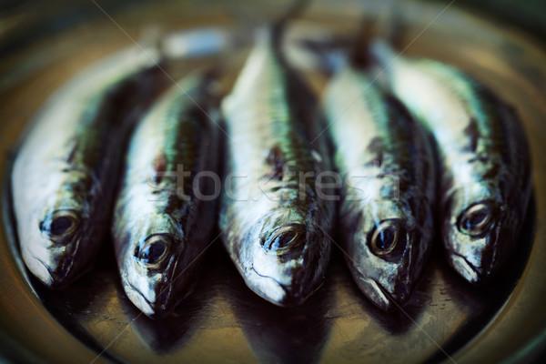 生 魚 サバ 海 食品 キッチン ストックフォト © mythja
