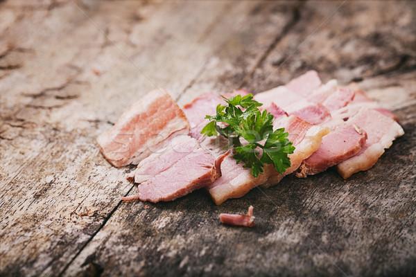 Bacon Stock photo © mythja