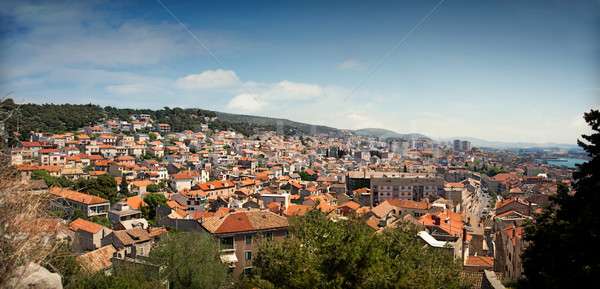 Cityscape of Sibenik, Croatia Stock photo © mythja