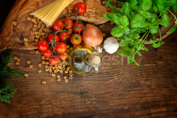 Fresh ingredients  Stock photo © mythja