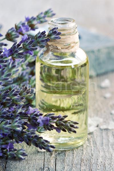 Olio di lavanda naturale sapone fresche Foto d'archivio © mythja