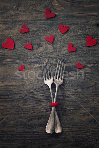 Valentines dinner Stock photo © mythja