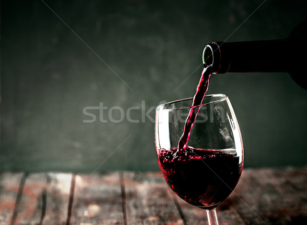 Red wine Stock photo © mythja