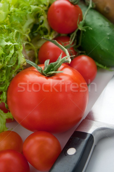 Variety of fresh vegetables. Stock photo © mythja