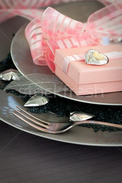 Table setting Stock photo © mythja