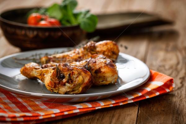 Chicken legs Stock photo © mythja