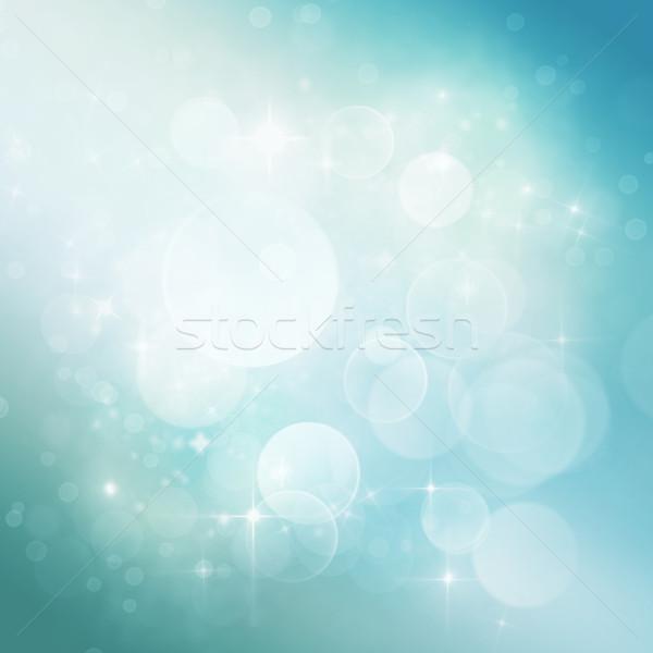 Bokeh свет дизайна пространстве звезды Сток-фото © mythja