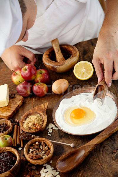 Baking sweets Stock photo © mythja