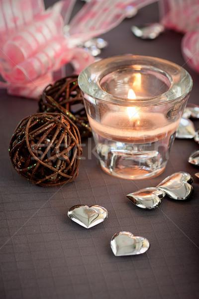 Valentines ornaments Stock photo © mythja