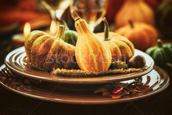 Thanksgiving dinner Stock photo © mythja