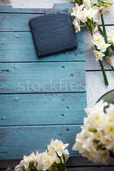 Spring table setting Stock photo © mythja