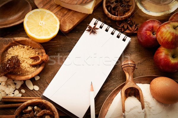 Baking concept background Stock photo © mythja