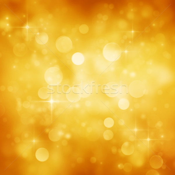 Festive golden background Stock photo © mythja