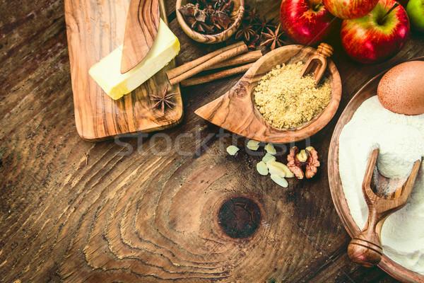 Baking concept background Stock photo © mythja