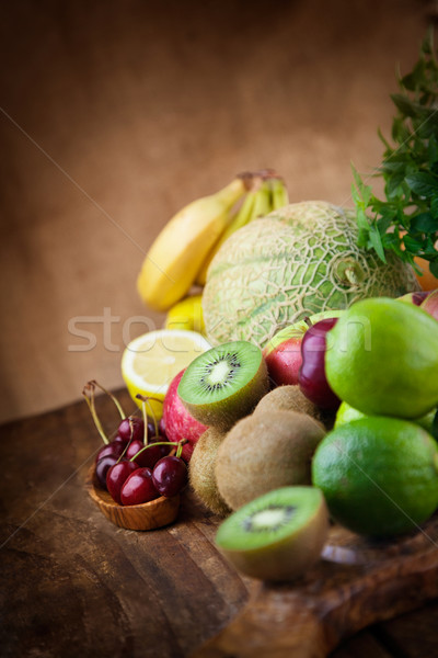 Fruit variety Stock photo © mythja