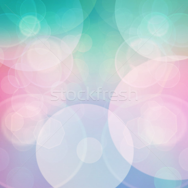 Bokeh Purple зеленый синий розовый пастельный Сток-фото © mythja