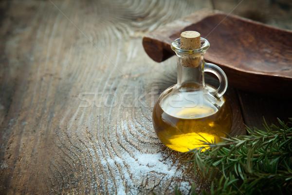 Extra virgin Olive oil  Stock photo © mythja
