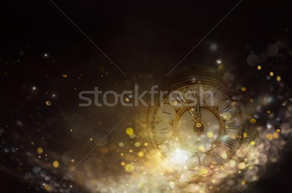 Bokeh New Yearbackground Stock photo © mythja