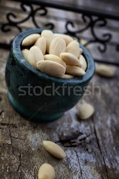 Peeled almonds Stock photo © mythja