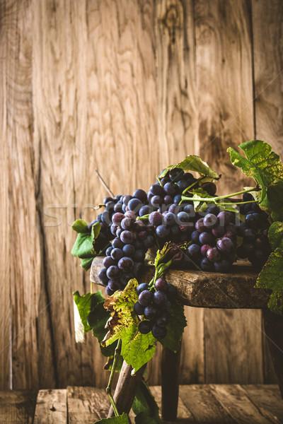 Fresh grapes Stock photo © mythja
