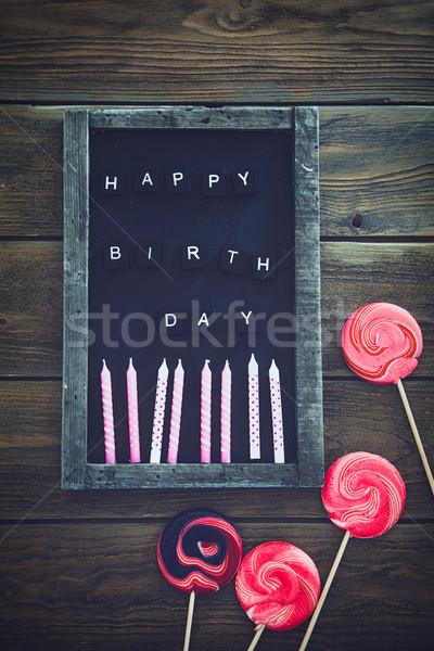 Birthday Stock photo © mythja